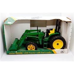 John Deere 6400 tractor w/ loader Has Box