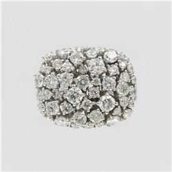 2.33 ctw Diamond Anniversary Ring - 14KT White Gold