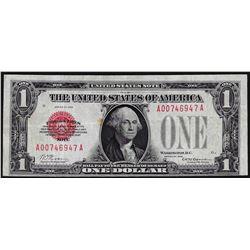 1928 $1 Legal Tender Red Seal Note