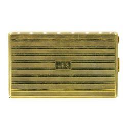 Cartier Cigarette Case - 14KT Yellow Gold