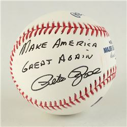Pete Rose Autographed Baseball by Rose, Pete