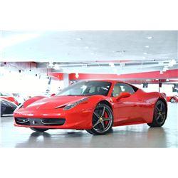 2010 Corsa Red Ferrari 458 Italia Coupe