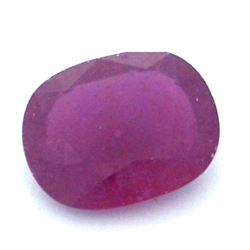 12.32 ctw Oval Ruby Parcel