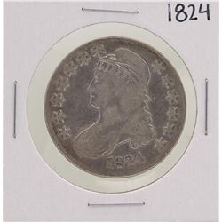 1824 Capped Bust Half Dollar Coin