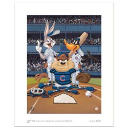 At the Plate (Cubs) by Looney Tunes