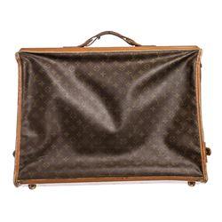 Louis Vuitton Monogram Canvas Leather Vintage Garment Bag
