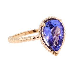 2.72 ctw Tanzanite Ring - 14KT Rose Gold