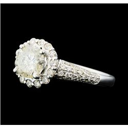 1.81 ctw Diamond Ring - 14KT White Gold