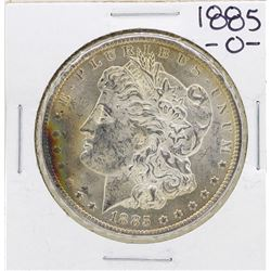 1885-O $1 Morgan Silver Dollar Coin Amazing Toning