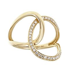 0.23 ctw Diamond Ring - 18KT Yellow Gold