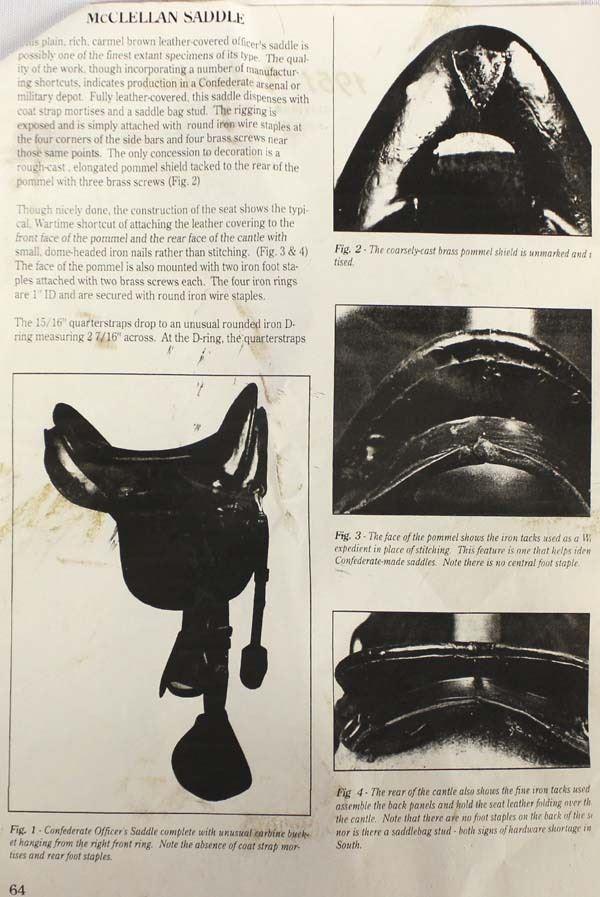 Antique McClellan Saddle & Gear