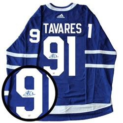 John Tavares - Toronto Maple Leaf Jersey - Hand Signed, Certified.