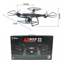 303 Spaceship Drone - 4 CH, 5.8GHZ, Video Transmission Quad Copter, Barometer, HD Camera, Auto Retur