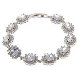Ladies .925 Silver Swarovski Element Bracelet.