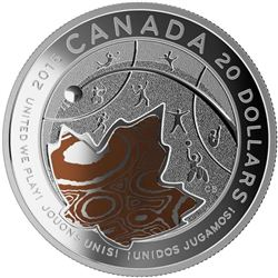 $20 Fine Silver Coin - PAN AM/PARAPAN AM Games: United We Play. Royal Canadian Mint, Special Issue.