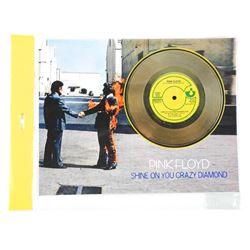 "Pink Floyd ""Shine on You Crazy Diamond"" Display - 11x14 Inches."
