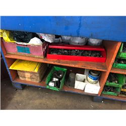 WORK BENCH WITH REMAINING CONTENTS