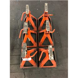 LOT OF 6 JACK STANDS