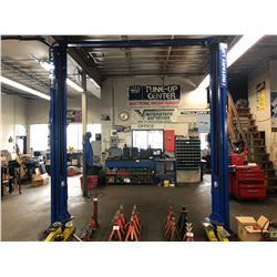 ROTARY LIFT MOD SPOAION5GO 10,000 LB 2 POST VEHICLE HOIST