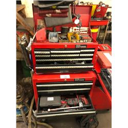 CRAFTSMAN TOOL BOX WITH CONTENTS