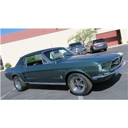 FRIDAY NIGHT FEATURE 1968 FORD MUSTANG COUPE