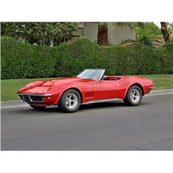 1968 CHEVROLET CORVETTE ROADSTER  454 BIG BLOCK 4 SPEED