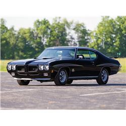 FEATURE 1970 PONTIAC GTO JUDGE TRIPLE BLACK 4 SPEED RAM AIR
