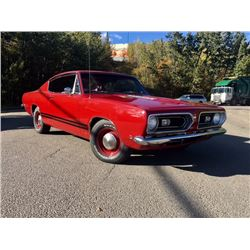 1968 PLYMOUTH BARRACUDA FORMULA S 383 BIG BLOCK