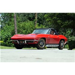 1966 CHEVROLET CORVETTE BIG BLOCK 427/390 HP ROADSTER FRAME OFF RESTO