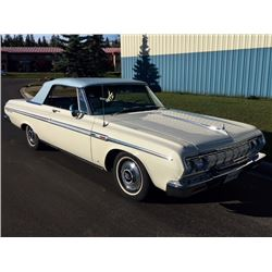 1964 PLYMOUTH SPORT FURY CONVERTIBLE 383 BIG BLOCK FACTORY AC
