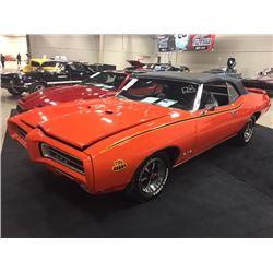 1969 PONTIAC GTO CONVERTIBLE 4 SPEED TRIBUTE