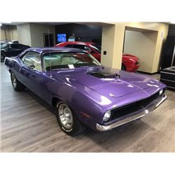 FEATURE 1970 PLYMOUTH CUDA 426 HEMI REAL DEAL HEMI