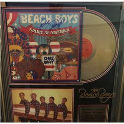 FRIDAY BEACH BOYS SIGNED FRAMED PRINT COA