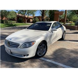 FRIDAY 2007 MERCEDES BENZ CL600 AMG
