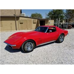 FRIDAY 1972 CHEVROLET CORVETTE RESTOMOD