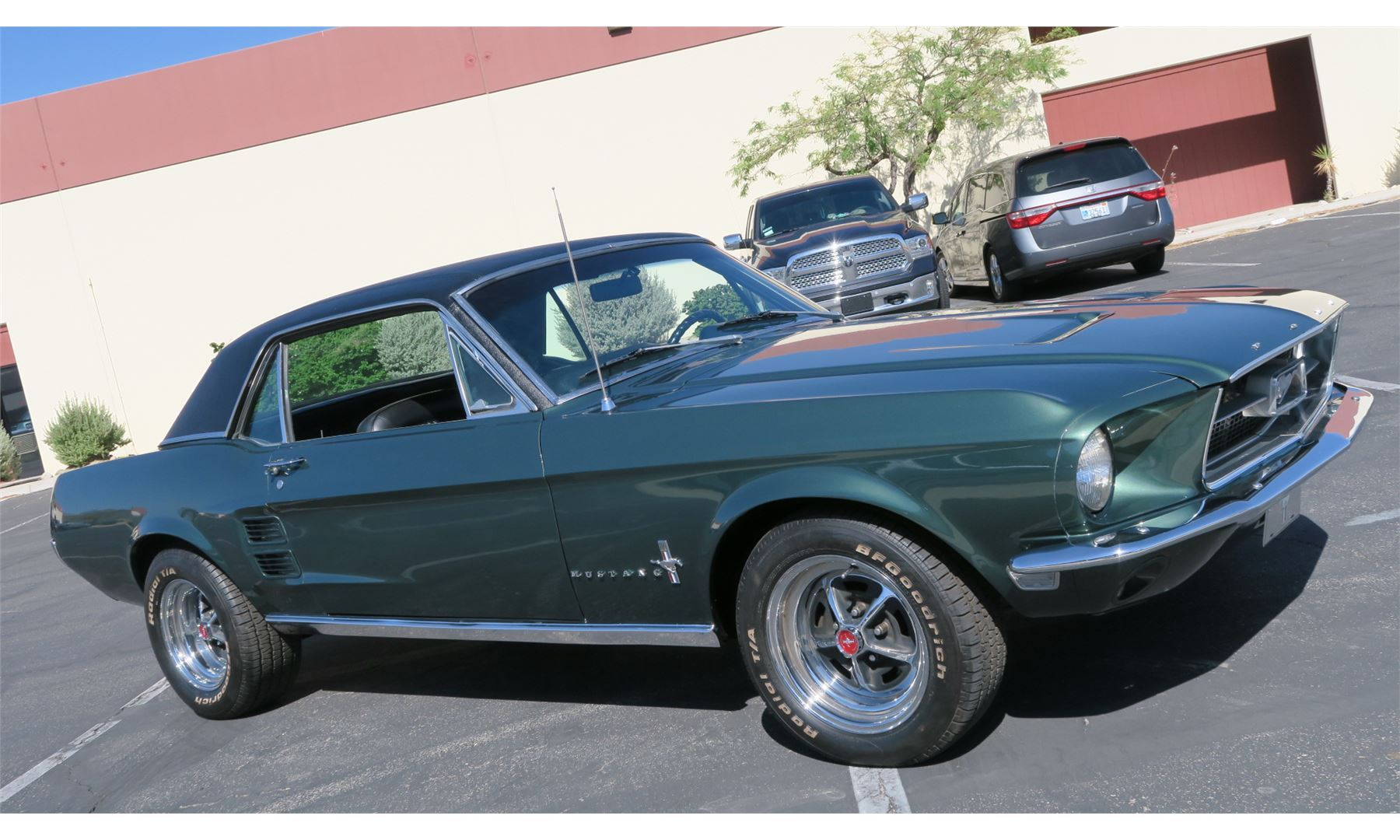 Friday Night Feature 1968 Ford Mustang Coupe The Electric Garage