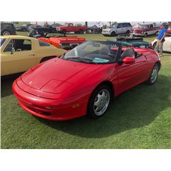 FRIDAY 1991 LOTUS ELAN CONVERTIBLE