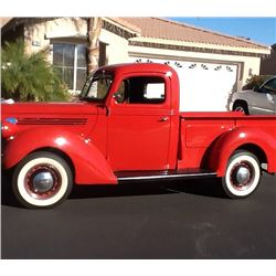 1939 FORD PICKUP COMPLETE FRESH RESTORATION