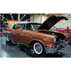 1957 CHEVROLET BEL AIR CONVERTIBLE - STUNNING SIERRA GOLD ONLY 49 MILES SINCE RESTO