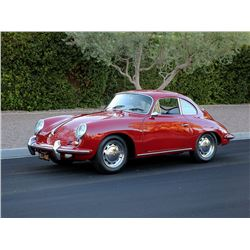 1965 PORSCHE 356 COUPE STUNNING RESTORED CERTIFICATE OF AUTHENTICITY
