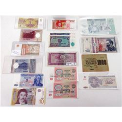 Assorted Issuers. 1919-2006. Group of 23 Issued Notes.