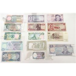 Assorted Middle Eastern Issuers. 1950s-2000s. Group of 55+ Issued Notes.