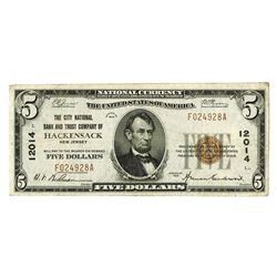 National Banknotes, $5, 1929, Ch#12014, Issued Note