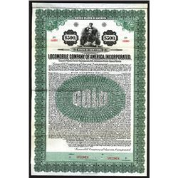 Locomobile Company of America, Inc. 1922 6% Gold Coupon Bond.