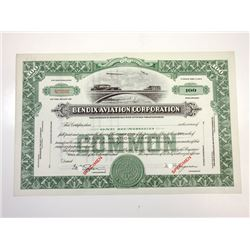 Bendix Aviation Corp., 1950s Specimen Stock Certificate