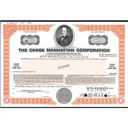 Chase Manhattan Corp., 1984 Specimen Bond