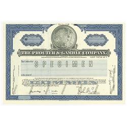 Procter & Gamble Co., 1988 Specimen Stock Certificate