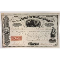 National Bank of Catasauqua, 1868 Issued Stock Certificate