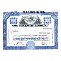Magnavox Co., 1973 Specimen Stock Certificate