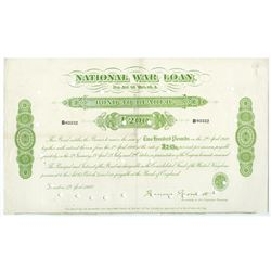 National War Loan 1900, Issue Bearer Bond